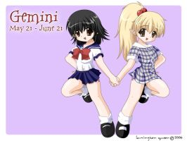 Gemini by lamingtonqueen