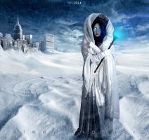 Mother Nature is the Snow Queen(this year) by djjimmygee