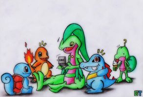 The best 5 is Gameboy Lovers...?! by GTS257-CT