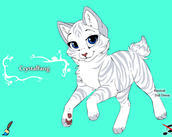 Crystalfang by Wanderisawesome