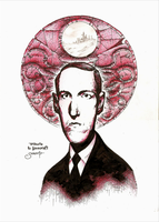 Howard Phillips Lovecraft by Heri-Shinato
