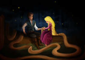 Tangled by momochili