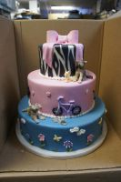 7 year old birthday cake by ninny85310
