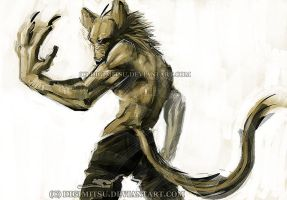 Random wolf guy by Digimitsu