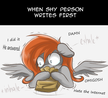 Introvert's problem by RedheadFly