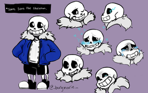 Sans the Skeleton by FrogNamedKitty