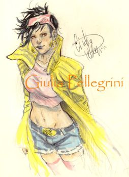 Jubilee sketch with Copic by GiuliaPellegrini