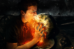 Man Eats World by FatherofGod