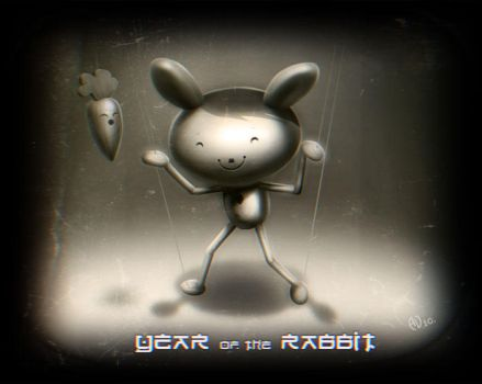 year of the rabbit by saintbug