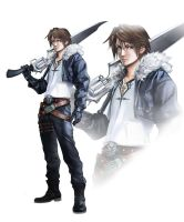 SQUALL LEONHART by FF69