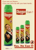 Obama_Baygon by juarezricci