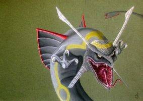 Realistic Rayquaza by Dragoness17