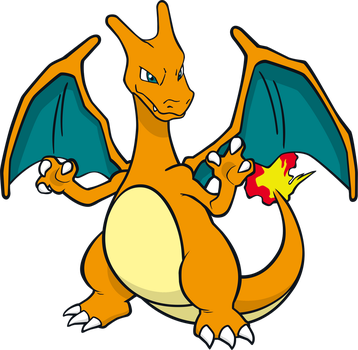 Charizard by MonsterMMORPG