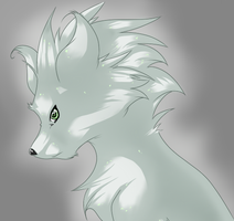Silver Wolf by That-Stupid-Dingo