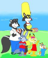 Simpfox Family by tolan68