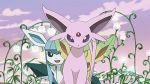 Espon, Leafeon and Glaceon by ryanthescooterguy