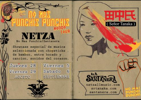 Flyer 3-Tour No mas Punchis by exporadica