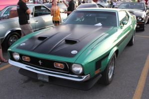 Green Boss 351 by KyleAndTheClassics