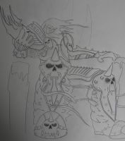 Lich King Inner Struggle by Saint0703