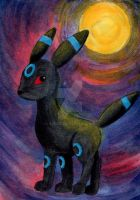 Umbreon ACEO by SabrieI