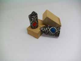 Soul Mates Rings made of tin (1) by TheDrailusX