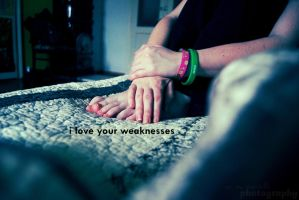 love your weaknesses by Midnight3Flame