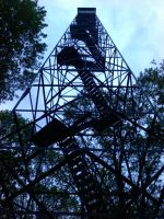 Fire Tower by Tarsurion