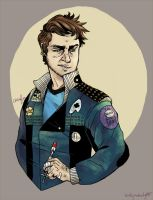 Punk McCoy by teaofrage