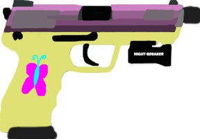 Fluttershy's TAC-45 Night-Breaker by The-Ironwing-Kaiser