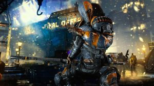 DeathStroke Wallpaper by Darkslayer092