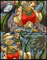 June Coyote Vs The Salad. P5. by Virus-20