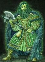 Green Knight by ravenscar45