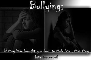 You Will Rise Version: Bullying Postcard by DeverexDrawer