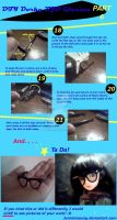 DIY BJD Dorky glasses Tutorial pt 6 by JunMinseung