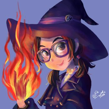 Little Witch by NyaYukie
