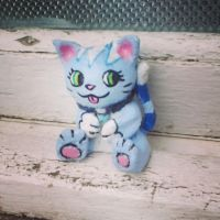 Mica clay sculpture! :D by MicaTheKitty