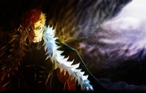 laxus coloring by DEOHVI