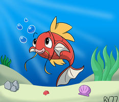 Magikarp Loves You by redyoshi77