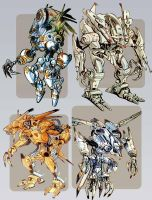 compilation of some robots by heckthor