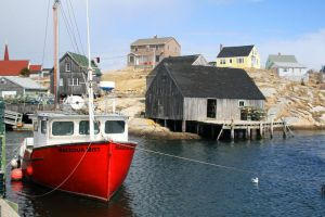 Peggy's Cove by PaulMcKinnon