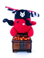 Arrr Pirate Bunny by csgirl