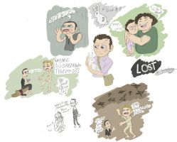 really really stupid LOST sketchdump by candlehat