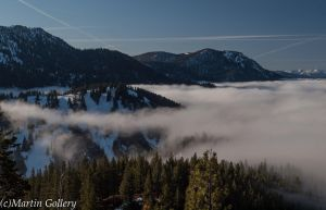 Lake Tahoe Fog by MartinGollery