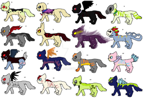 NAME YOUR PRICE ADOPTS :open: by soundandscar