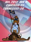 NFL 2012 WEEK 9 : BEARS VS. TITANS! by Rerwin