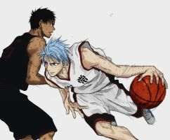 Kuroko no Basket - Colored by Happinessxsorrow