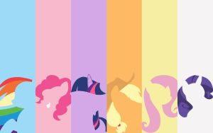 My Little Pony Wallpaper V.2 by CWArtist