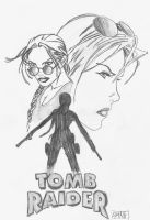 Lara Croft: The Tomb Raider by Forty-Fathoms