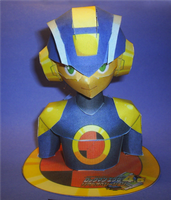 Chokopia Megaman bust by sgonzales22