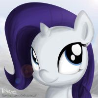 Filly Rarity by NoPonyZone